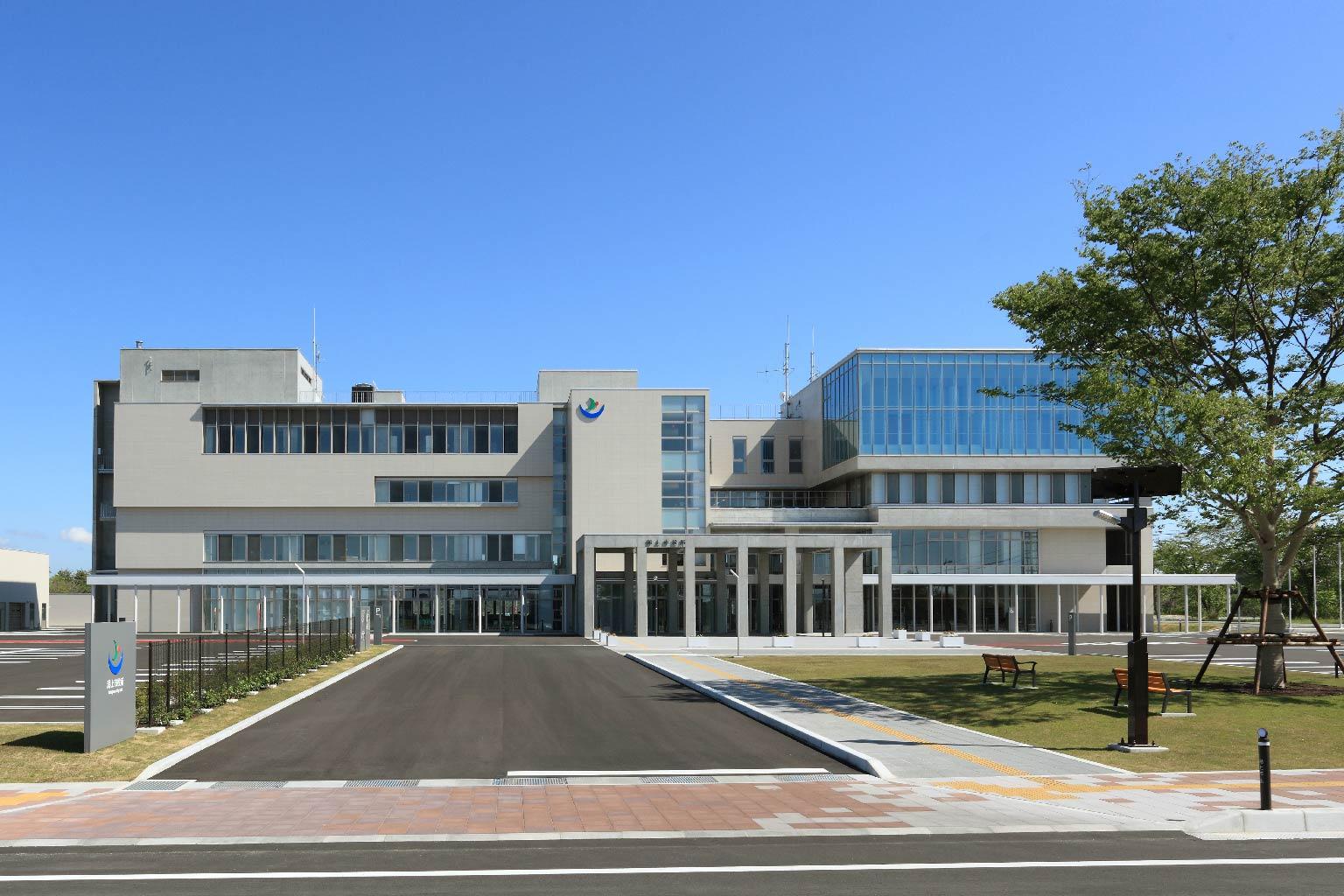 潟上市庁舎
