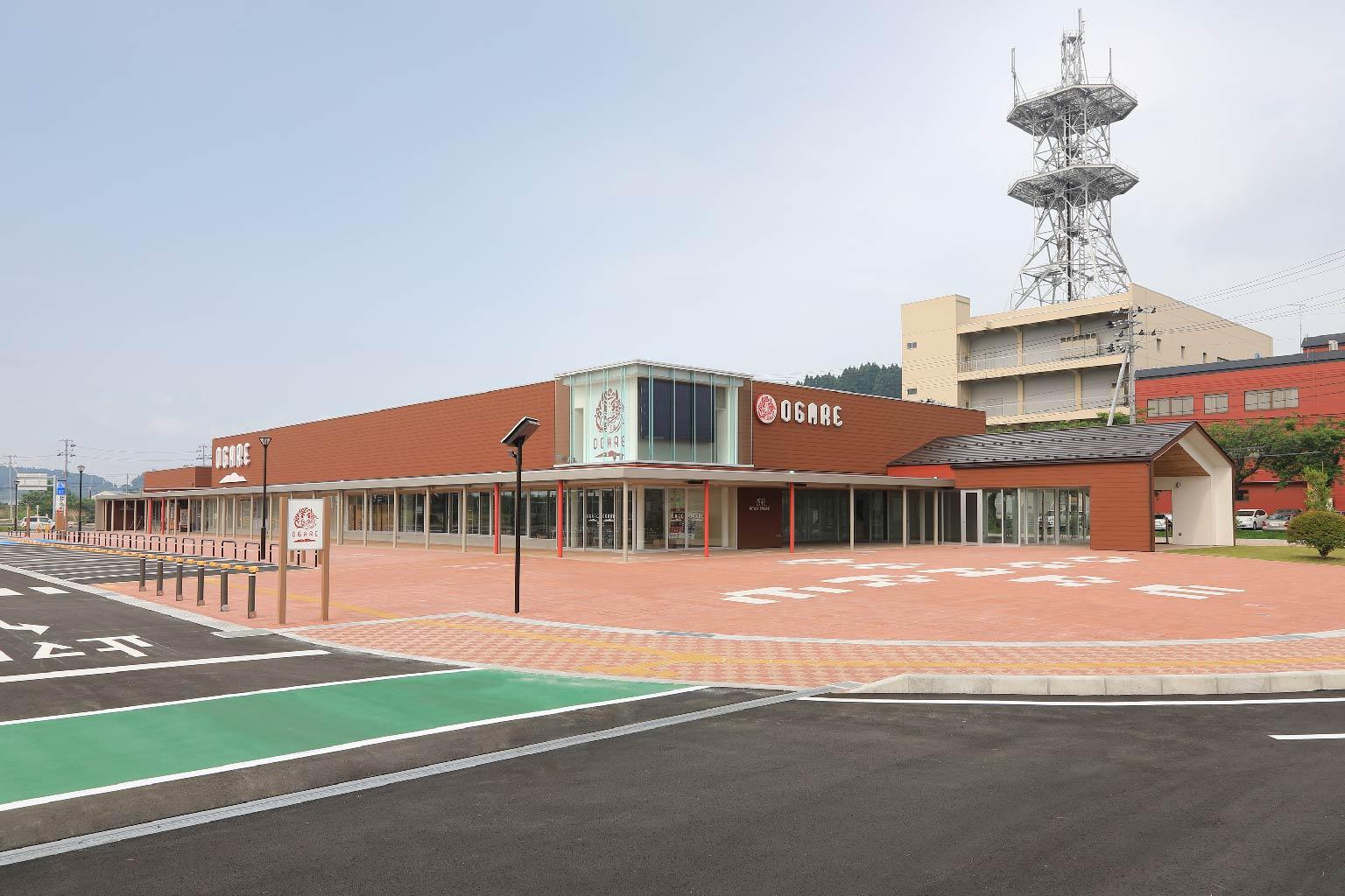 道の駅おが「オガーレ」