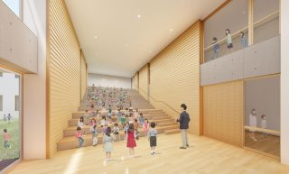 階段教室イメージ